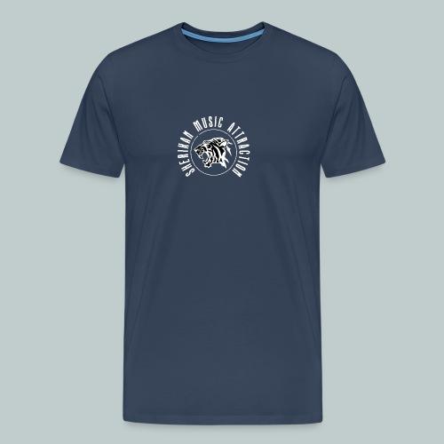 The Sherikan Music Attraction logo - Premium-T-shirt herr