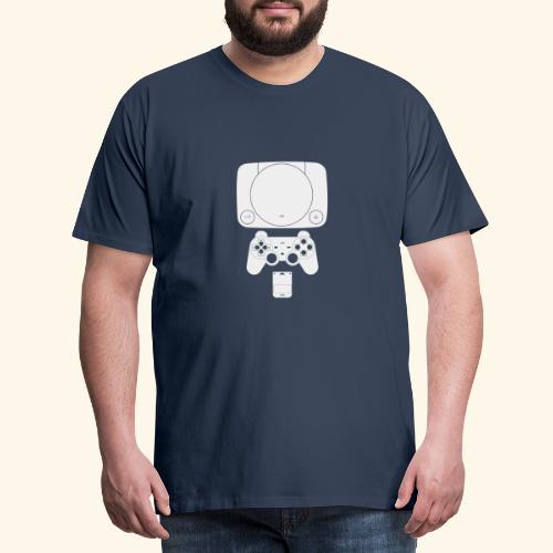 PS ONE Classic Console Design - Men's Premium T-Shirt