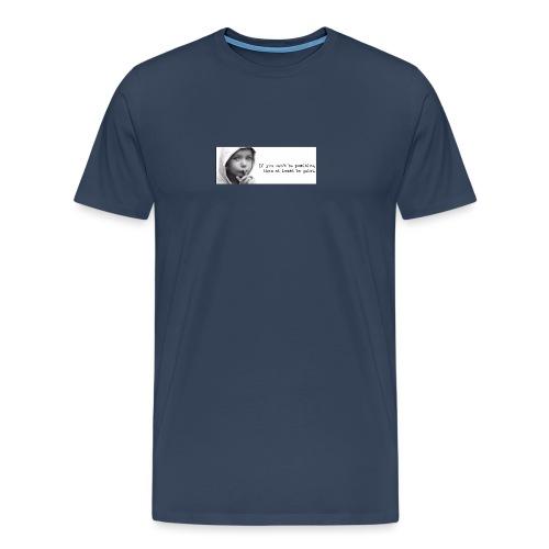 quiet - Mannen Premium T-shirt