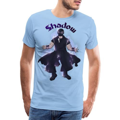 FLOW Wrestling's shadow by Helyria - T-shirt Premium Homme