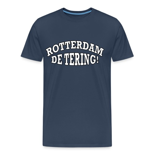Rotterdam - De Tering! - Mannen Premium T-shirt