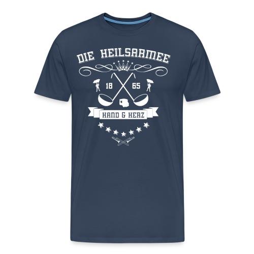 Crest 2013 back - Männer Premium T-Shirt