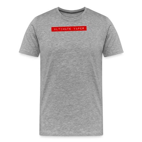 Ultimate vaper 1 png - T-shirt Premium Homme