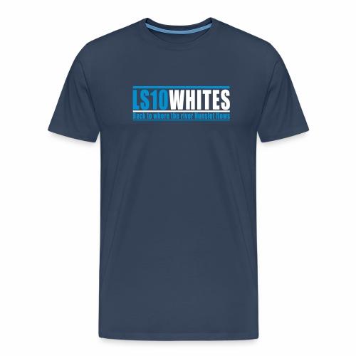 LS10 WHITES - Men's Premium T-Shirt