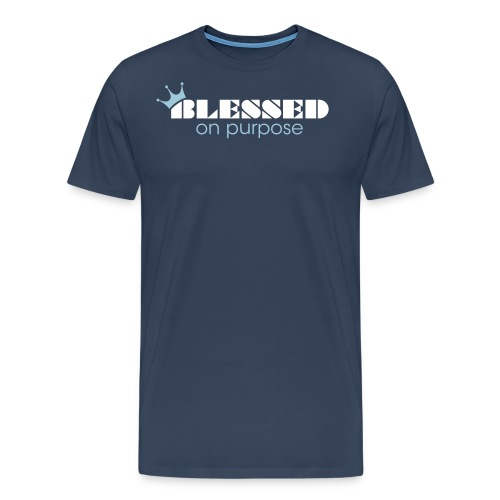 dnt blessedonpurpose - Men's Premium T-Shirt
