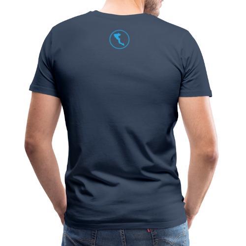 GRE3 Corfu back - Männer Premium T-Shirt