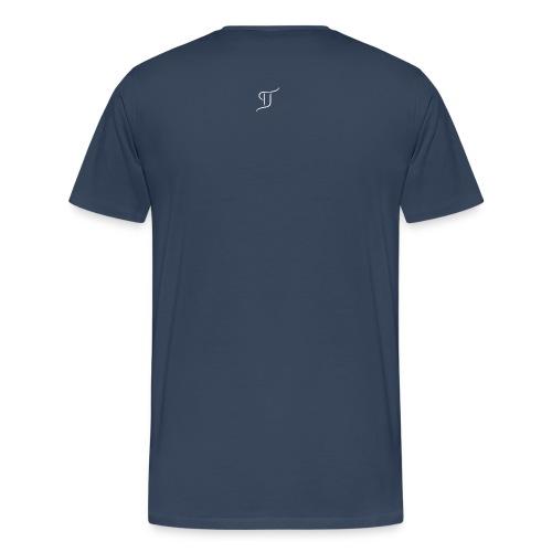 tj200x2002 white - Men's Premium T-Shirt