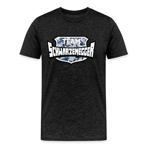 Team Schwarzenegger - Herre premium T-shirt