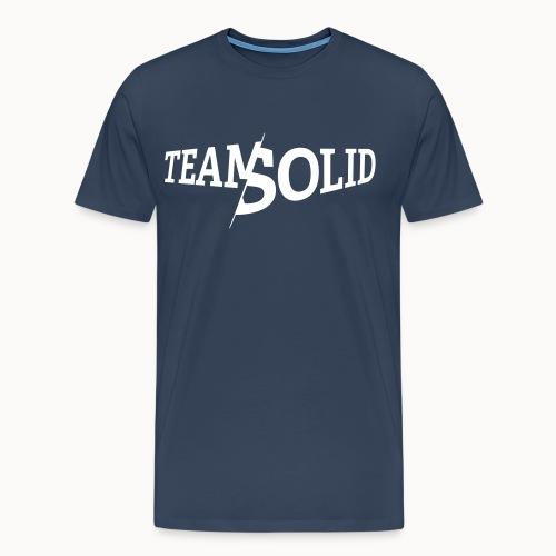 Karak_Solid_White_reduzie - Männer Premium T-Shirt