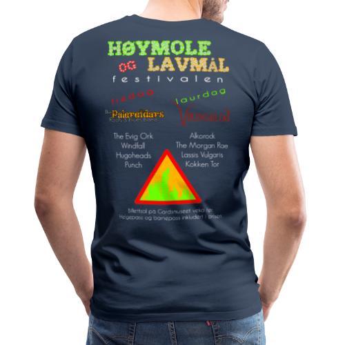 Høymole og lavmål - Premium T-skjorte for menn