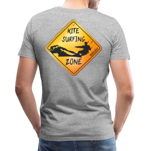 KITESURFING ZONE BREIZH - T-shirt Premium Homme