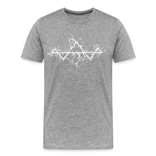 Isurus Virus Logo White - Men's Premium T-Shirt
