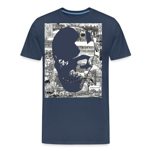bv84 navy sm png - Männer Premium T-Shirt