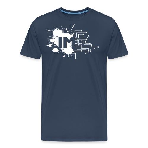 IM Logo AbrW - Men's Premium T-Shirt