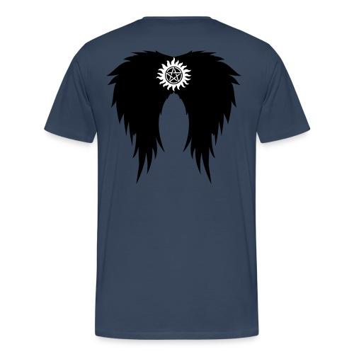Supernatural wings (vector) Hoodies & Sweatshirts - Men's Premium T-Shirt