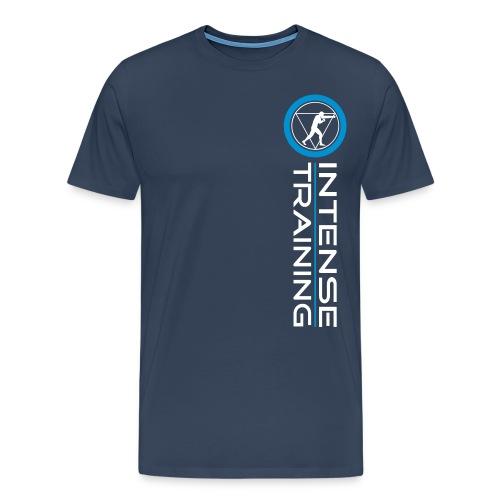 vertical good times logo spread - Männer Premium T-Shirt