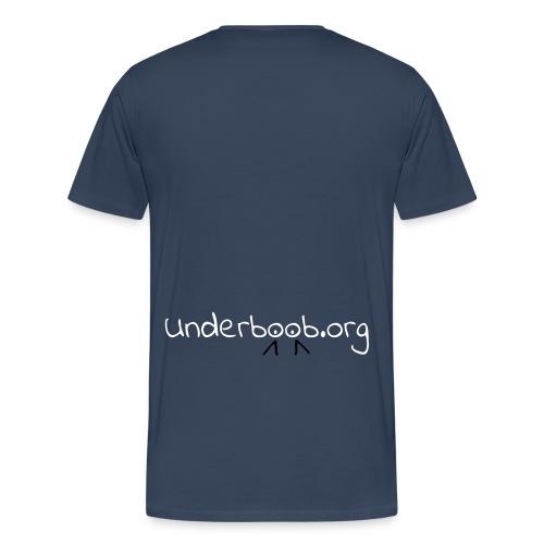 Underboob.org - Men's Premium T-Shirt