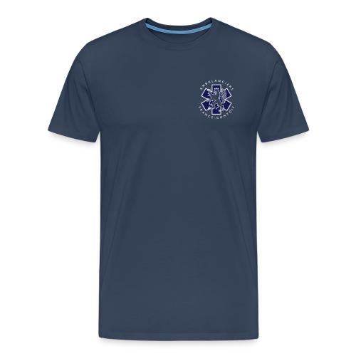 logo blue lion - T-shirt Premium Homme