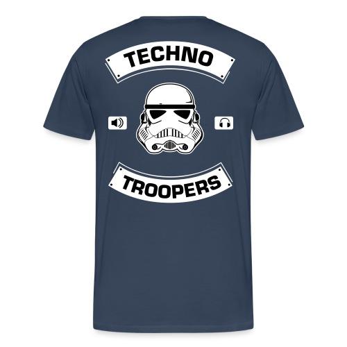 techno troopers - Männer Premium T-Shirt