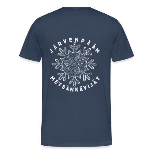 jame logo selk 1 final - Miesten premium t-paita