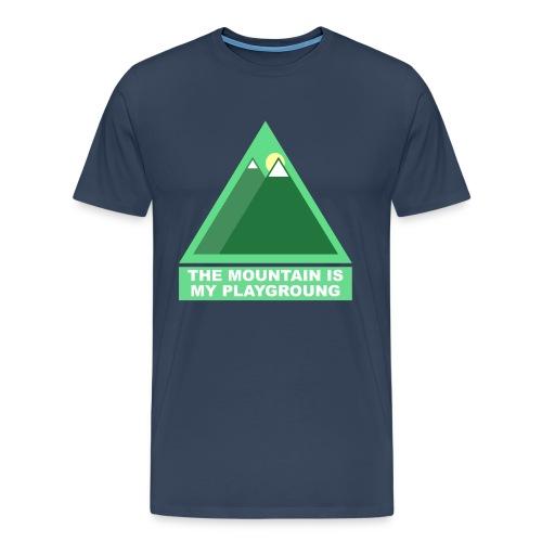 Mountain png - T-shirt Premium Homme