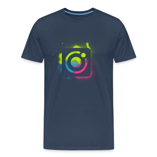 protonica icon square brush 1 - Men's Premium T-Shirt