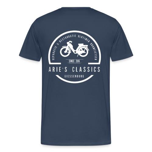 arie s classics logo - Mannen Premium T-shirt