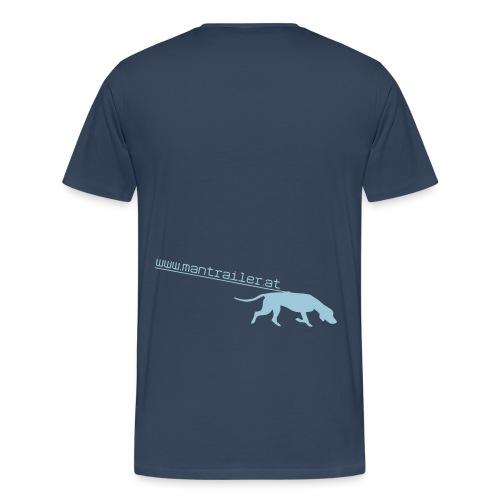 Mantrailer.at Logo V1 - Männer Premium T-Shirt
