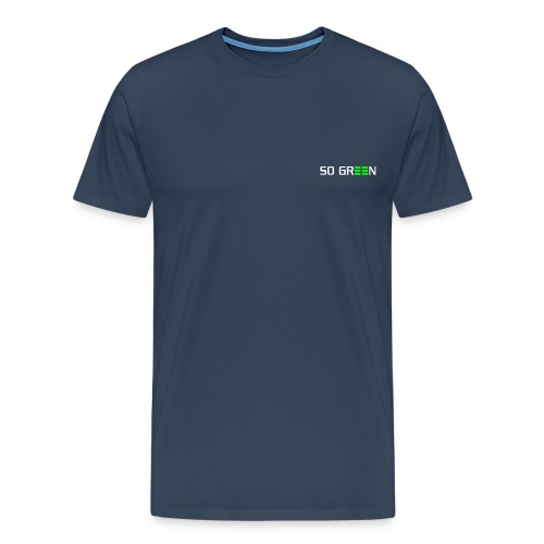pfade logo so green klein - Männer Premium T-Shirt