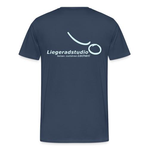 setzenlosfahrenlachen1 - Männer Premium T-Shirt