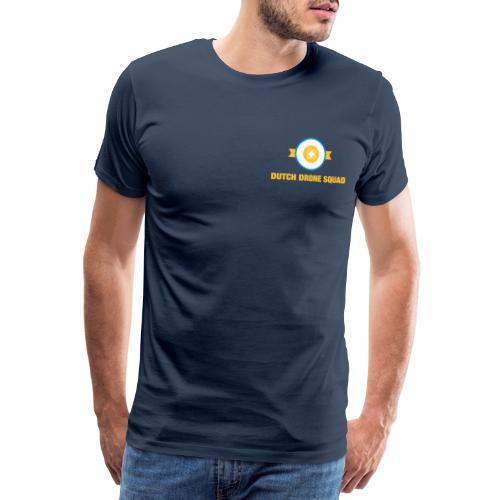 Logo op borst - Mannen Premium T-shirt