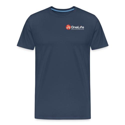 onelife ima logo dark bac - Men's Premium T-Shirt