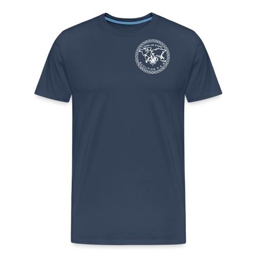 Logo PSG standaard zw klein eps - Mannen Premium T-shirt