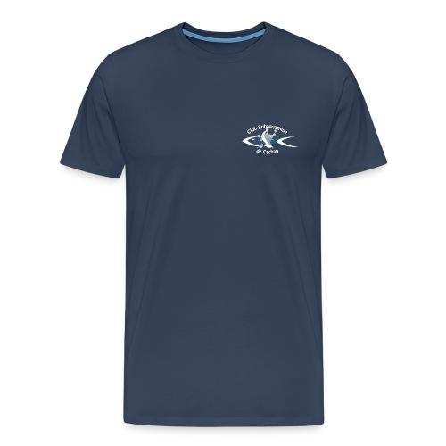 CSC Logo v2 text neg png - T-shirt Premium Homme