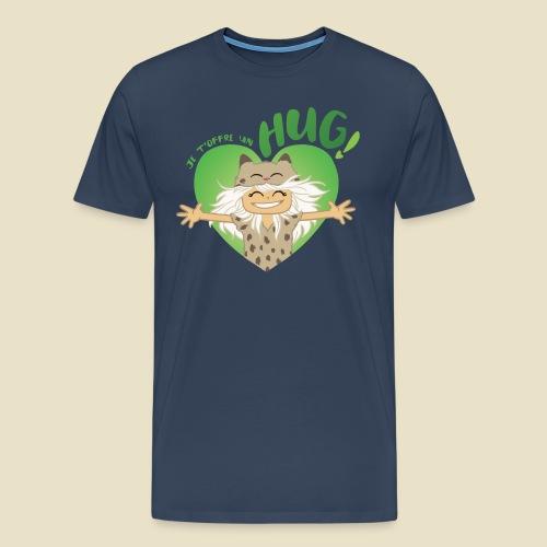 Janou t'offre un hug! - T-shirt Premium Homme