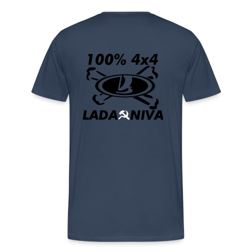 100 pro 4x4 - Männer Premium T-Shirt