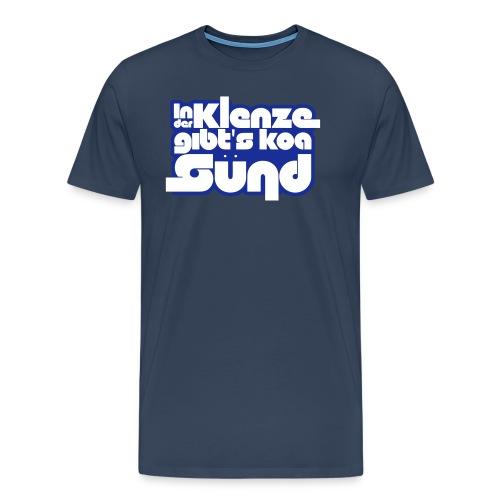 logo tshirt silvester3 - Männer Premium T-Shirt