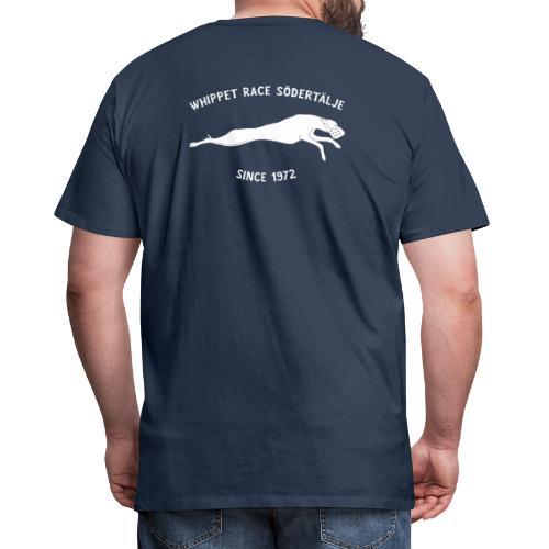 logga södertälje wr vit - Premium-T-shirt herr