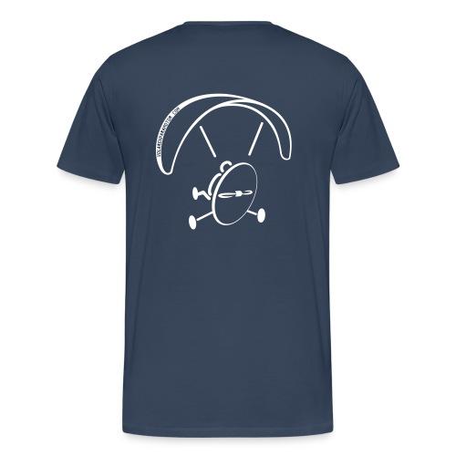 2 trike paramotor camiseta volarenparamo - Camiseta premium hombre