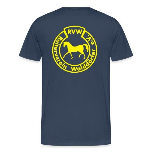 RVW Logo gelb - Männer Premium T-Shirt