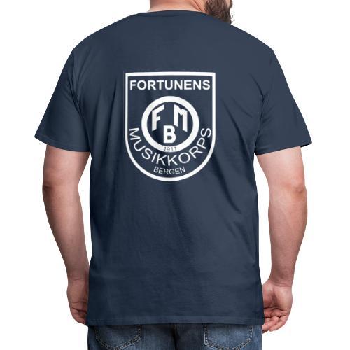 transparent logo - Premium T-skjorte for menn