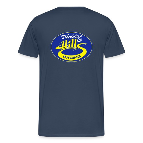 nobbyhillsracinglogo - Men's Premium T-Shirt