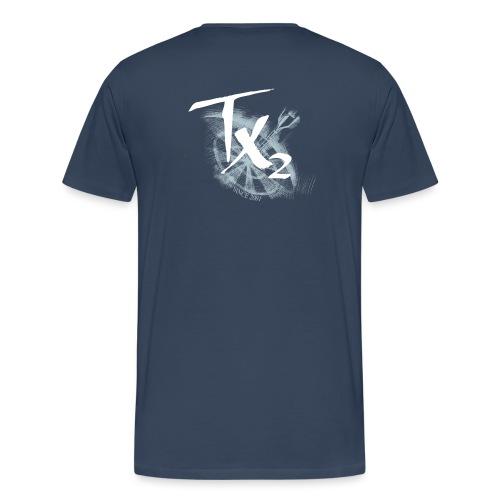 TX2 White - Männer Premium T-Shirt