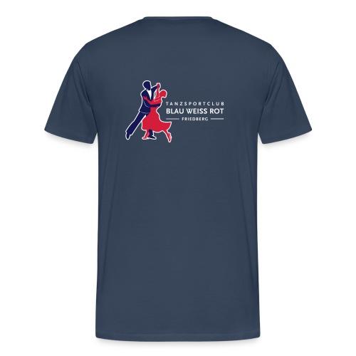 Logo TSC Friedberg Für dunklen Hintergrund - Männer Premium T-Shirt