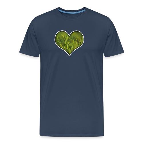 Ein Herz für die Natur! - Männer Premium T-Shirt