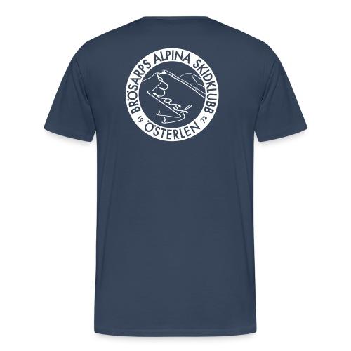 BASK klubbemblem - Premium-T-shirt herr
