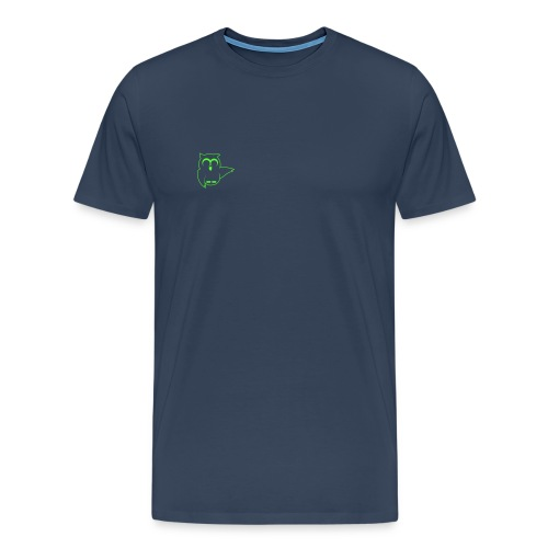 Nachtaktiv Outline 1C - Männer Premium T-Shirt