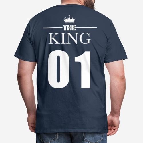 KING 01 (King & Queen) - T-shirt Premium Homme