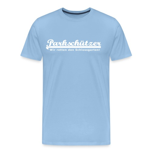 PS Schriftzug 30cm - Männer Premium T-Shirt