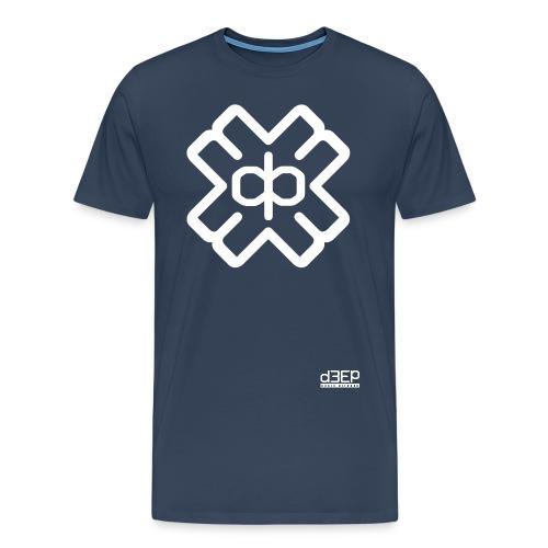 d3eplogowhite - Men's Premium T-Shirt